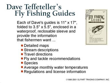 Dave Teffeteller's Fly Fishing Guides